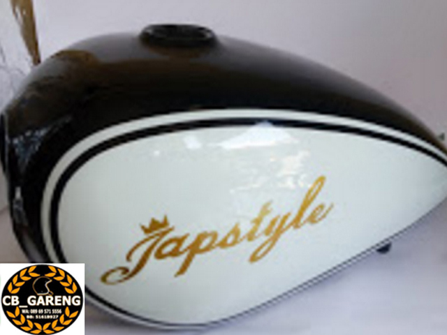 tangki japstyle hitam putih